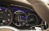 Porsche Panamera 4S Diesel instrument cluster