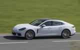 Porsche Panamera 4S Diesel cornering