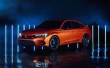 2022 Honda Civic prototype front side