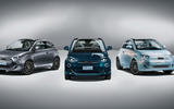 Fiat 500 electric official reveal - three models