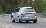 Mercedes GLB Nurburgring spies rear
