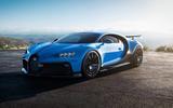 Bugatti Chiron Pur Sport front side