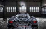 2020 Maserati MC20 development mule with Stirling Moss livery