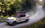 Land Rover SVO made this Discovery for the Austrian Red Cross