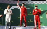 Australian GP podium