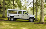 Defender hearse conversion - driving