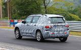 Mercedes GLB Nurburgring spies rear side