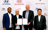 Hyundai and Kia sign deal with Arrival