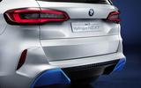 BMW I Hydrogen Next - official reveal rear bumper