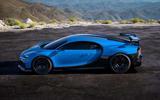 Bugatti Chiron Pur Sport side