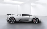 2020 Bugatti Centodieci reveal - side