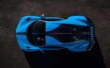 Bugatti Chiron Pur Sport from above