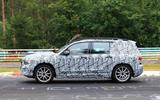 Mercedes GLB Nurburgring spies side