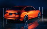 2022 Honda Civic prototype rear
