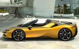 2020 Ferrari SF90 Spider - side