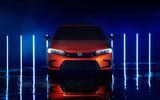 2022 Honda Civic prototype front dead