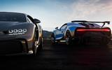 Bugatti Chiron Pur Sport rear plus front