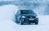 Volkswagen T-Roc R on snow