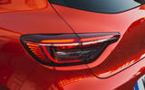 Renault Clio 2019 first drive review - rear lights