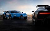 Bugatti Chiron Pur Sport front plus rear