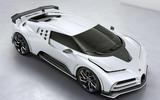 2020 Bugatti Centodieci reveal - hero front