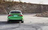 Audi RS3 Saloon rear end