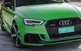 Audi RS3 Saloon front grille