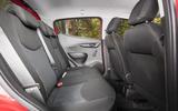 Vauxhall Viva Rocks rear seats