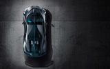 Bugatti Divo from above