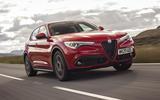Alfa Romeo Stelvio Sprint 2020 UK first drive review - hero front