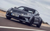 Alpine A110S 2019 first drive review - hero front