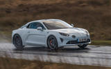 Alpine A110 S 2020 UK first drive review - tracking front