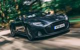 Aston Martin DBS Superleggera Volante 2019 UK first drive review - hero front