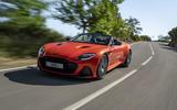 Aston Martin DBS Superleggera Volante 2019 first drive review - hero front