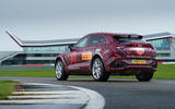 2020 Aston Martin DBX camouflaged prototype ride - static rear