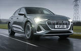 1 Audi E tron S Sportback 2021 UK first drive review hero front