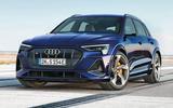 Audi E-tron S - static front