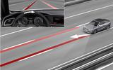 Audi lane-keeping assistance
