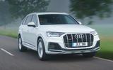 1 Audi Q7 TFSIe 2021 UK FD hero front