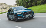Audi SQ7 2020 first drive review - hero front