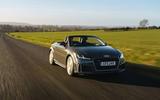 Audi TT Roadster 2019 UK first drive review - hero front