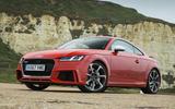 Audi TT - static front