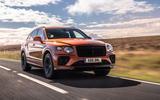Bentley Bentayga 2020 UK first drive review - hero front