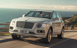Bentley Bentayga hybrid 2019 first drive review - hero front