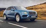 Bentley Bentayga Hybrid 2020 UK first drive review - hero front