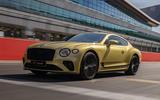 1 Bentley Continental GT Speed 2021 UK FD hero front