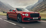 1 Bentley Fyling Spur V8 2021 UK review hero fronty