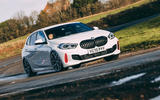 1 bmw 1 series 128ti 2021 uk first drive review hero front