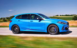 BMW 1 Series M135i 2019 first drive review - hero front