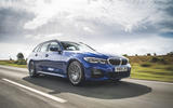 BMW 3 Series Touring 320d 2019 UK first drive review - hero front